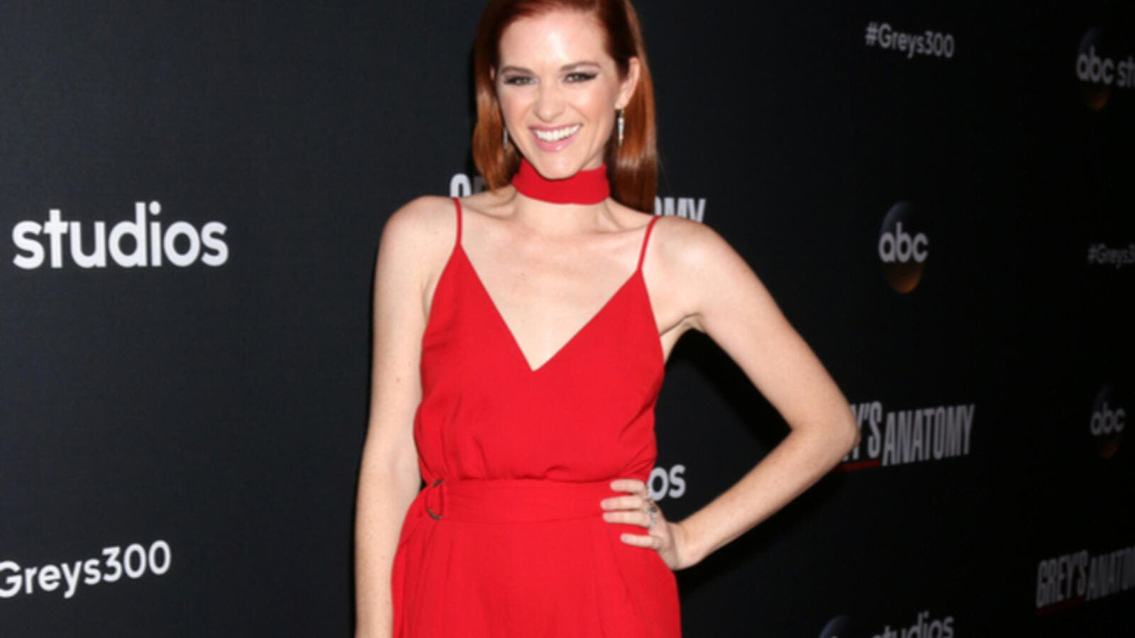 """Grey's Anatomy"" star Sarah Drew started filming a new CBS pilot Tuesday. (Source: Kathy Hutchins / Shutterstock)"