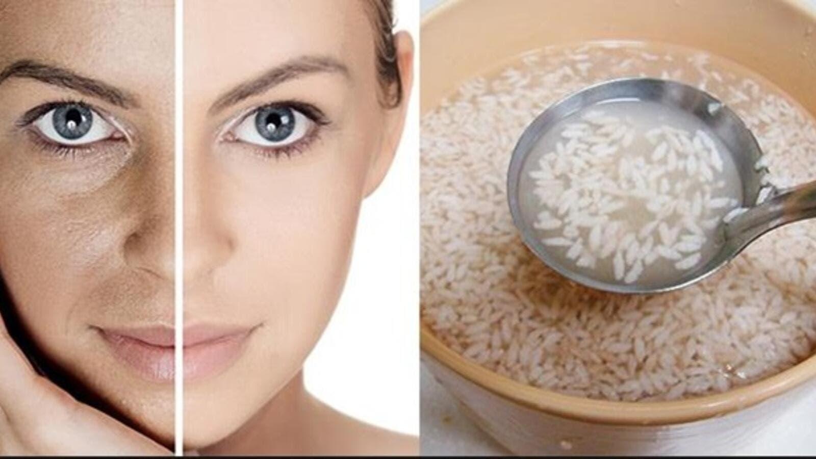 فوائد الأرز للبشرة الدهنية