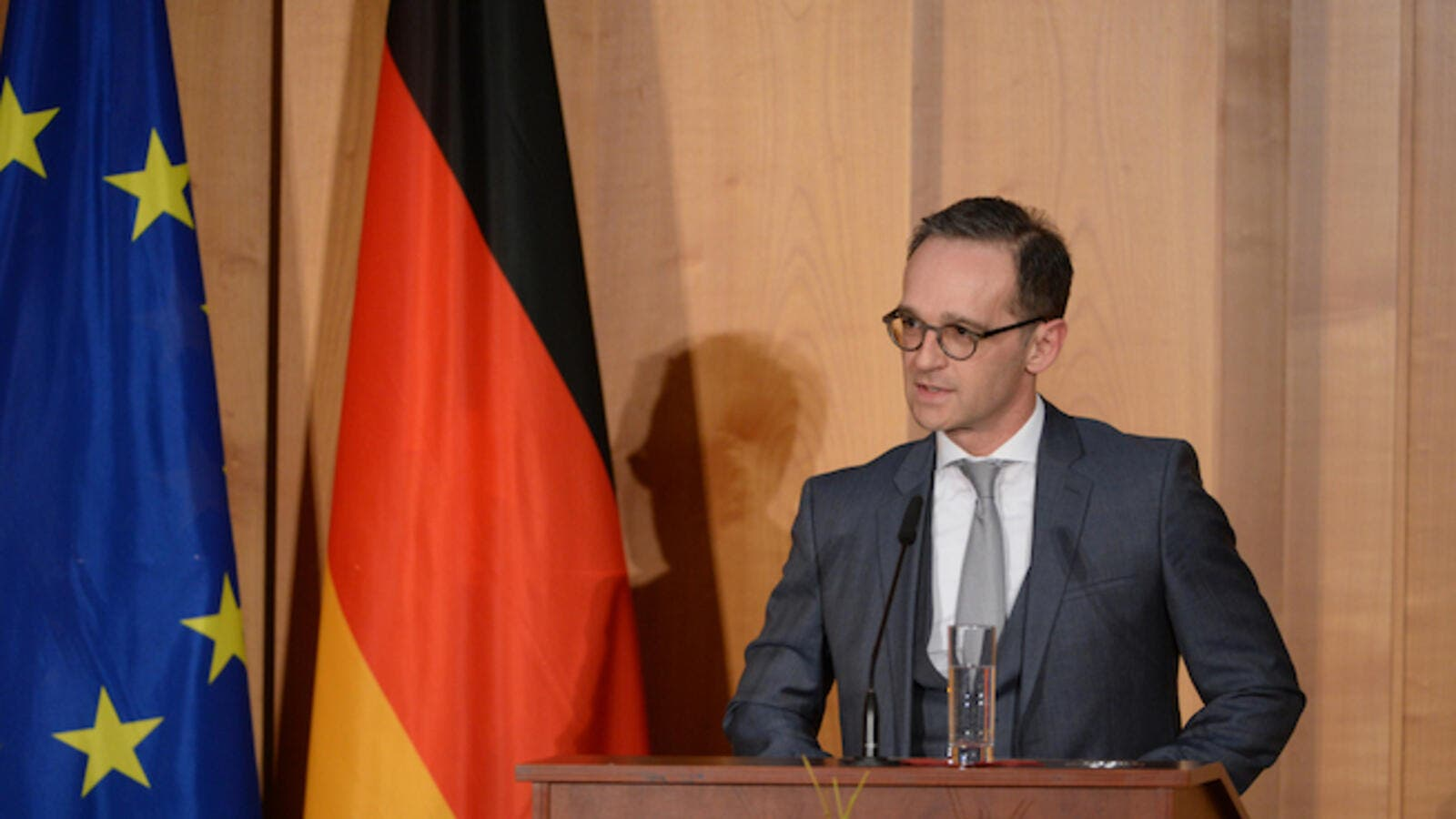 Germany's top diplomat also warned that new sanctions on Iran may further escalate tensions in the Middle East and become a threat to Europe's security. (Shutterstock)