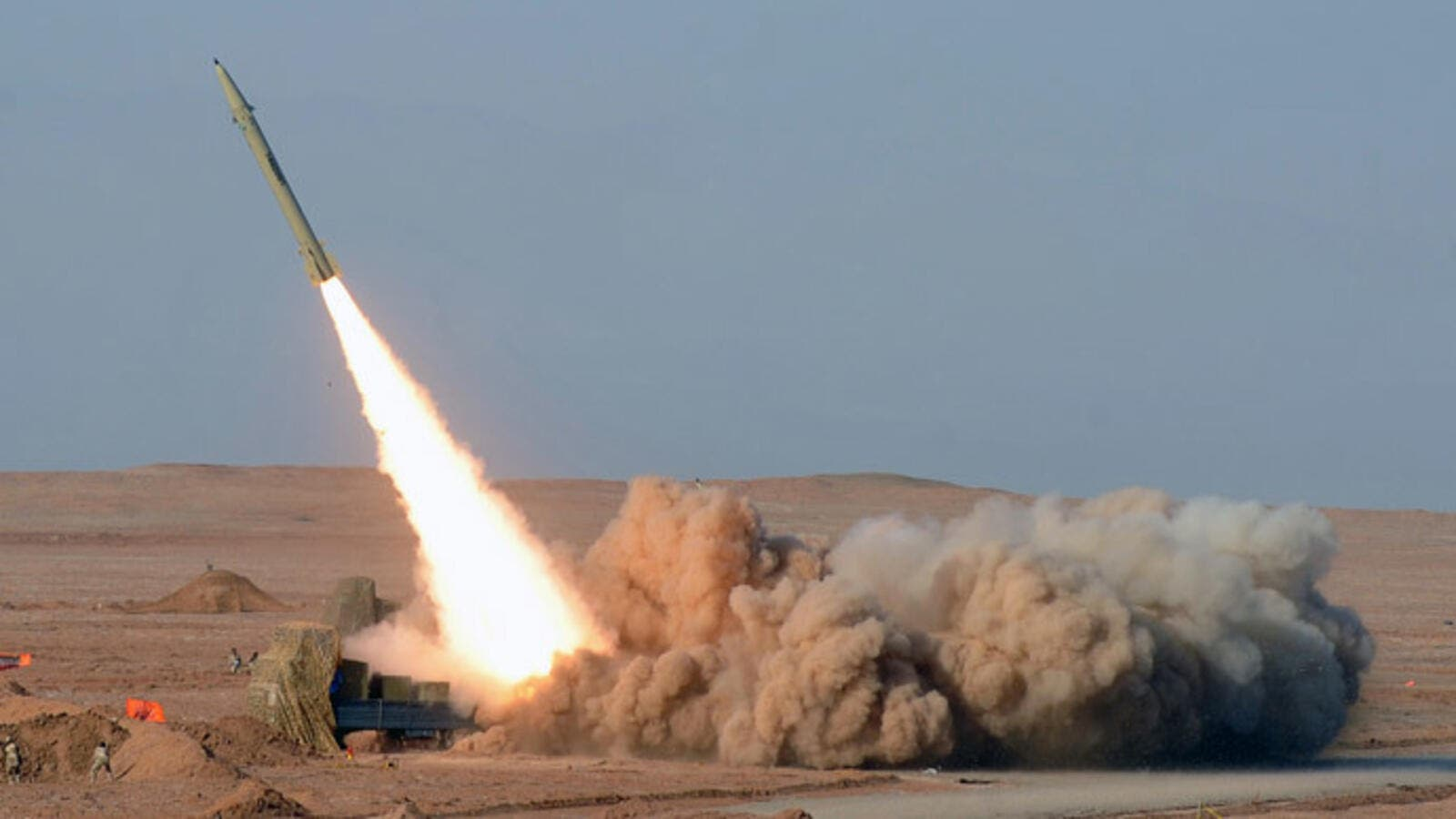 A file photo of an Iranian short-range missile. (AFP/File)