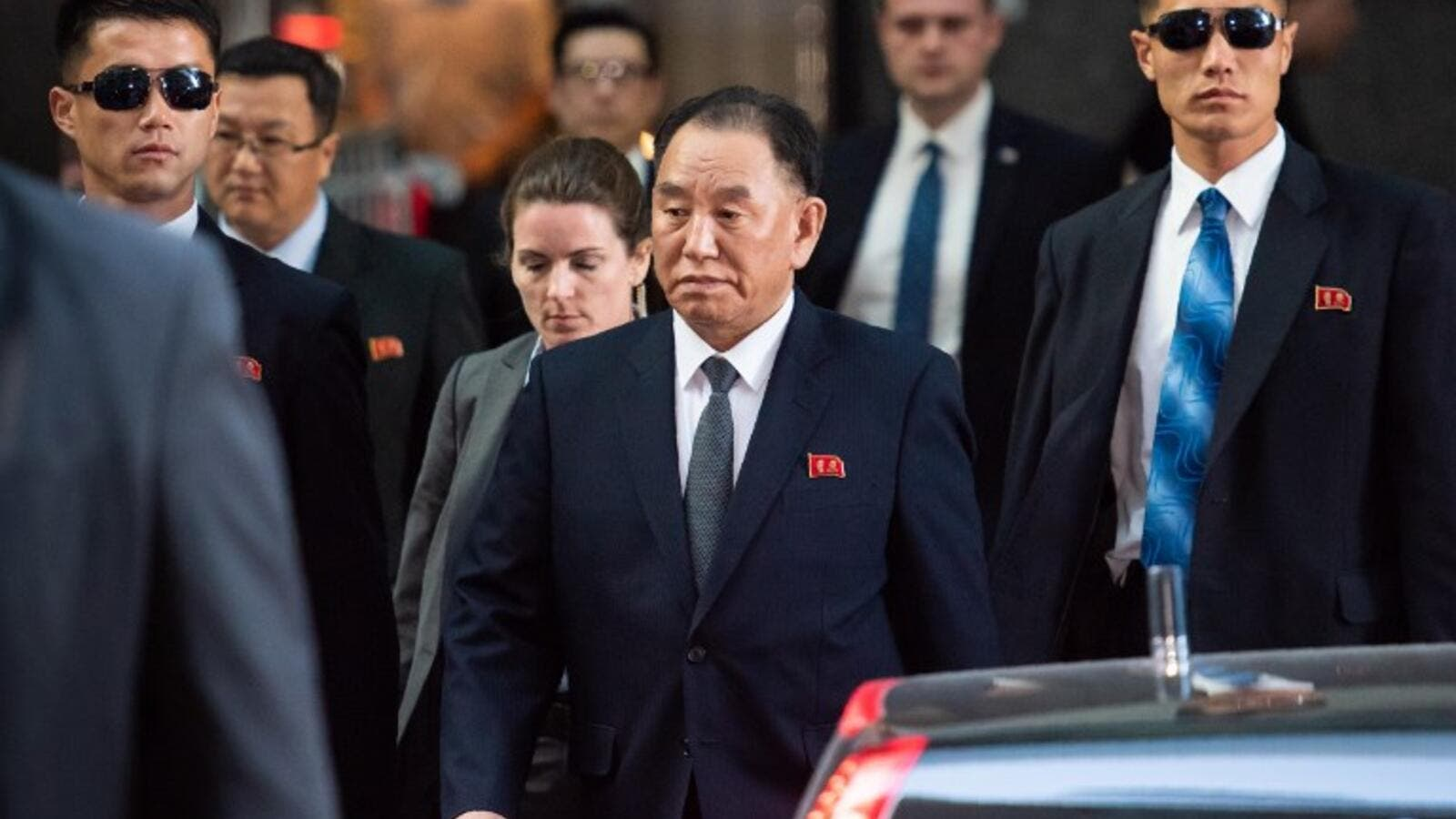 Kim Yong-chol (AFP/File Photo)
