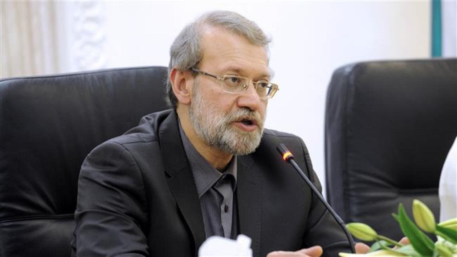 Speaker of Iranian parliament (Majlis) Ali Larijani (AFP/ File)