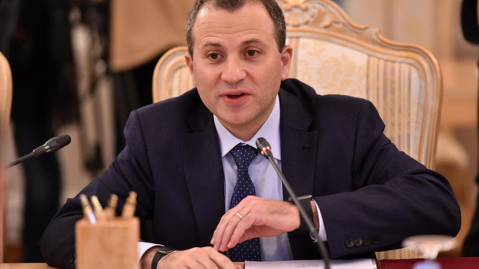 Foreign Minister Gebran Bassil (AFP/File Photo)