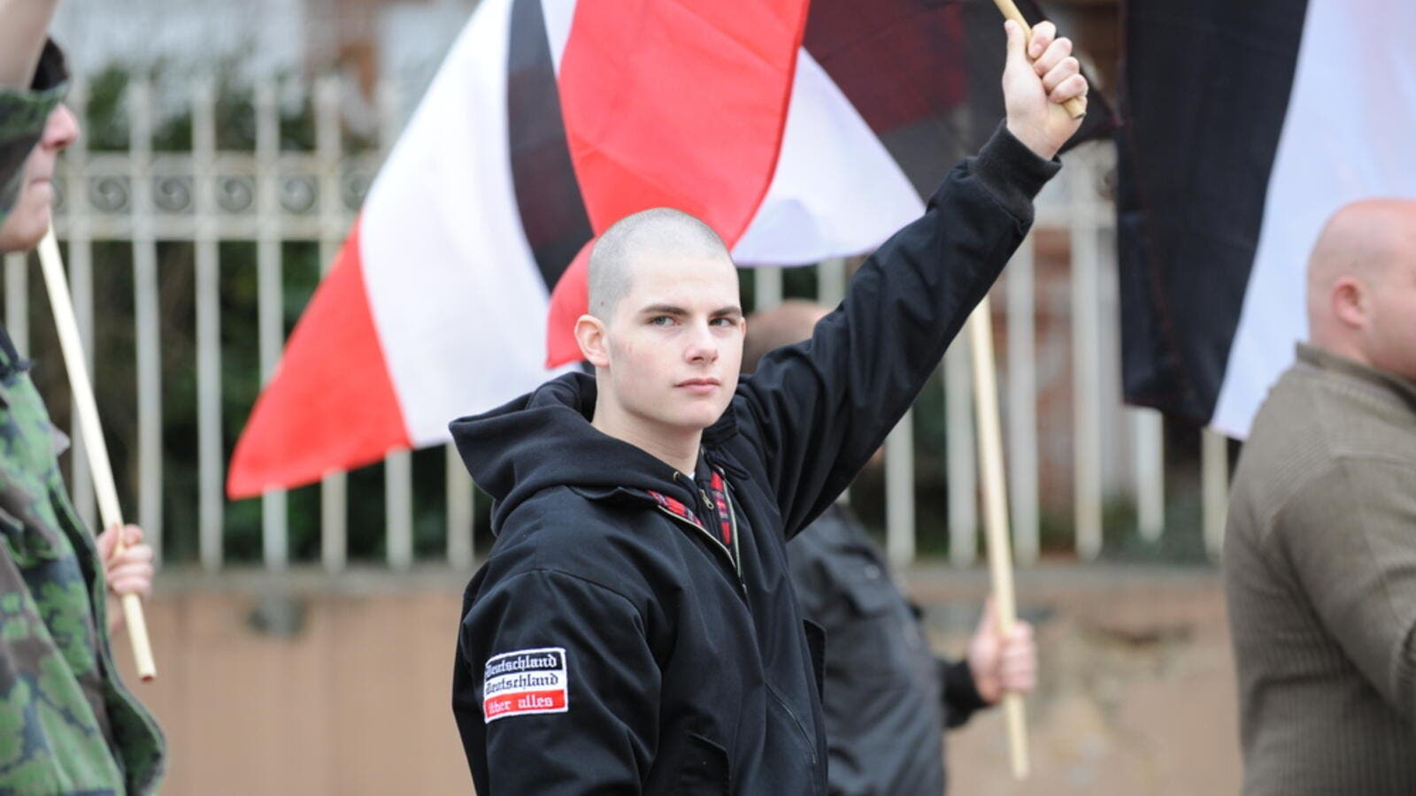 Protests against Neo Nazis and right wing extremists demonstrating (Shutterstock/File Photo)