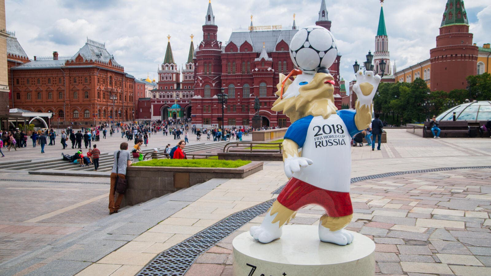 Official mascot of the 2018 FIFA World Cup  (Shutterstock)