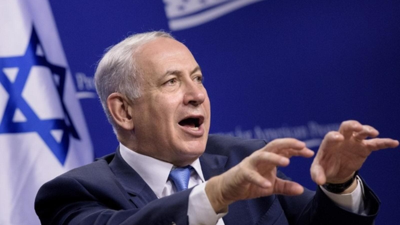 Netanyahu responding to Sweden's top diplomat Margot Wallstrom's who demanded investigations into the killing of Palestinians by Israeli forces in 2016. (AFP/File)