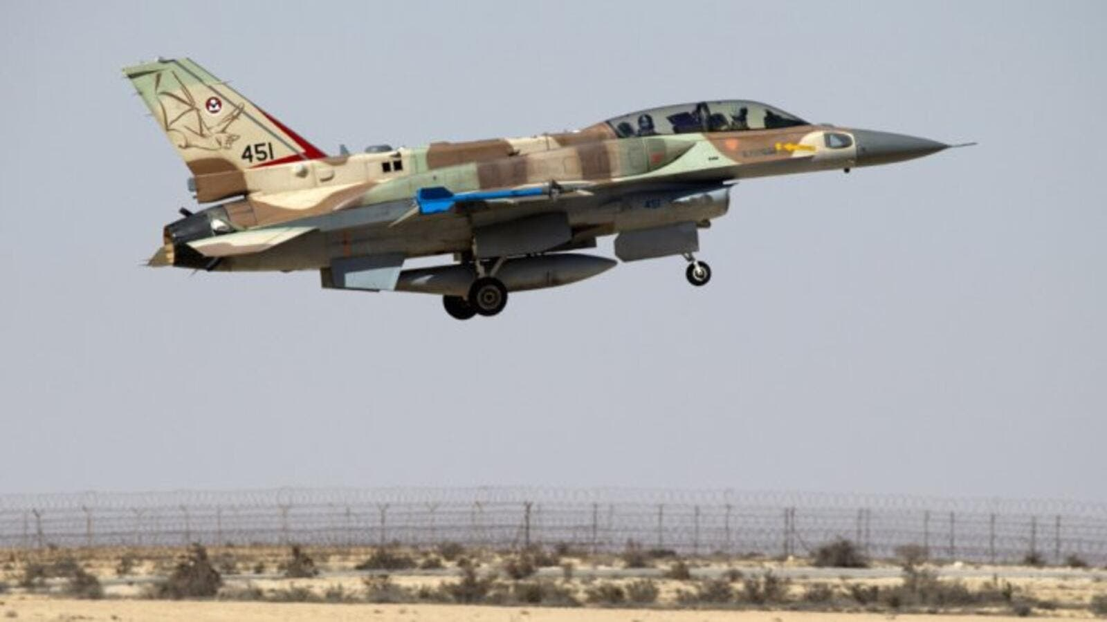 An overnight airstrike believed to have been carried out by Israel's air force struck Hezbollah targets in Syria. (AFP/File)