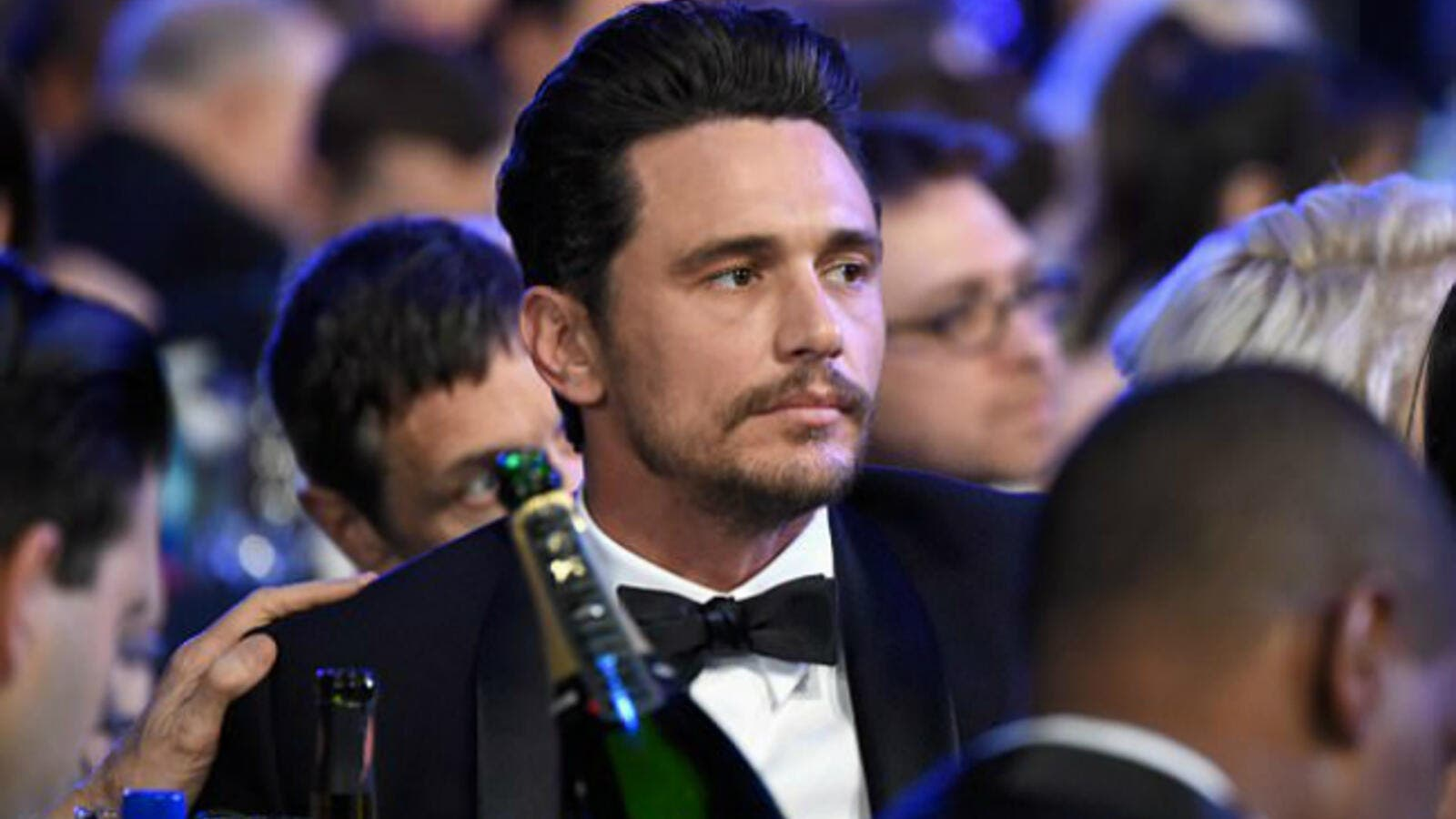Critical acclaim: Franco is seen attending the the 24th Annual Screen Actors Guild Awards at The Shrine Auditorium on in Los Angeles on January 21 where he was nominated (Source: Turner Image - Getty Images)