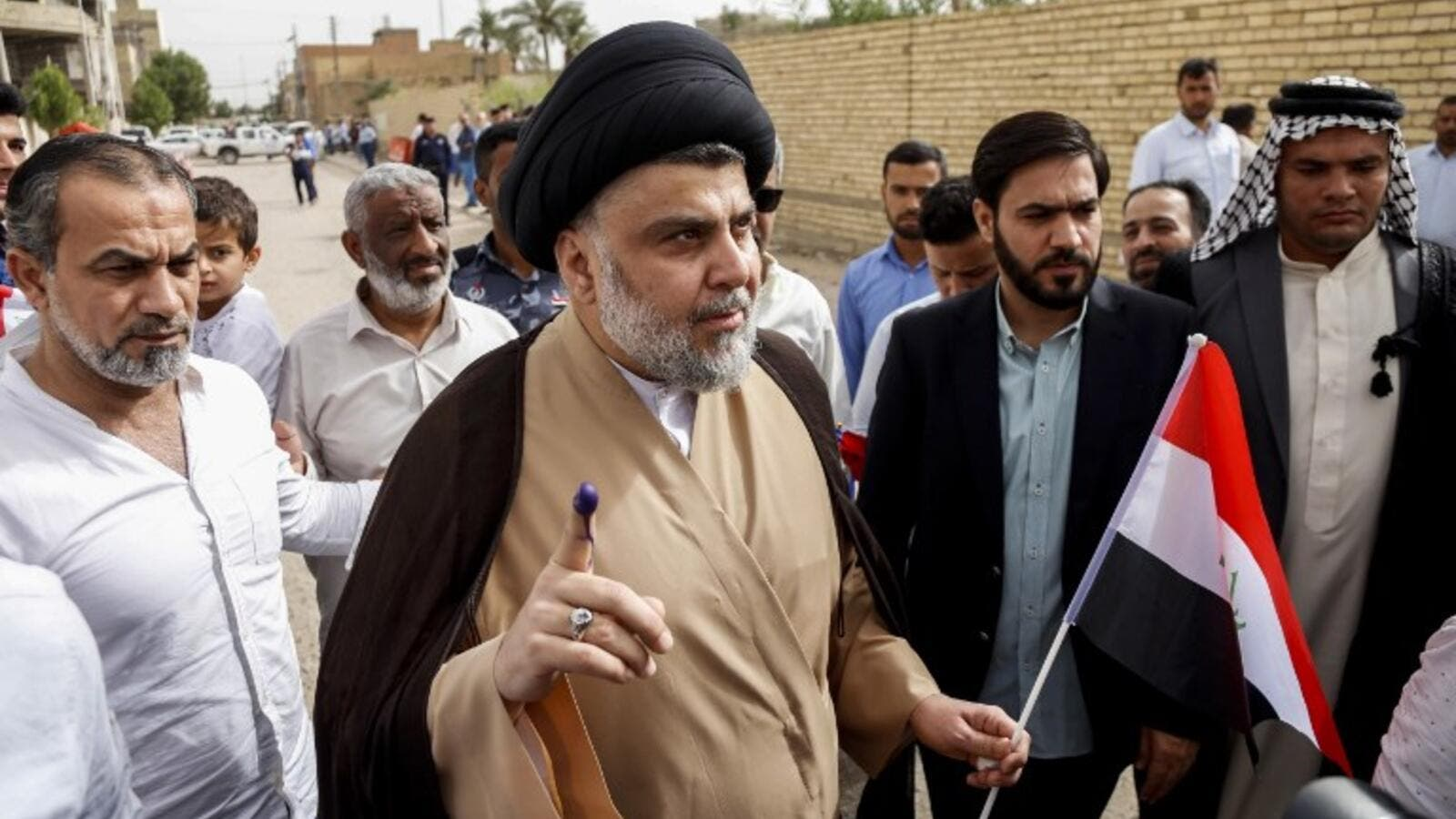 Iraqi Shiite cleric and leader Moqtada al-Sadr (AFP/File Photo)
