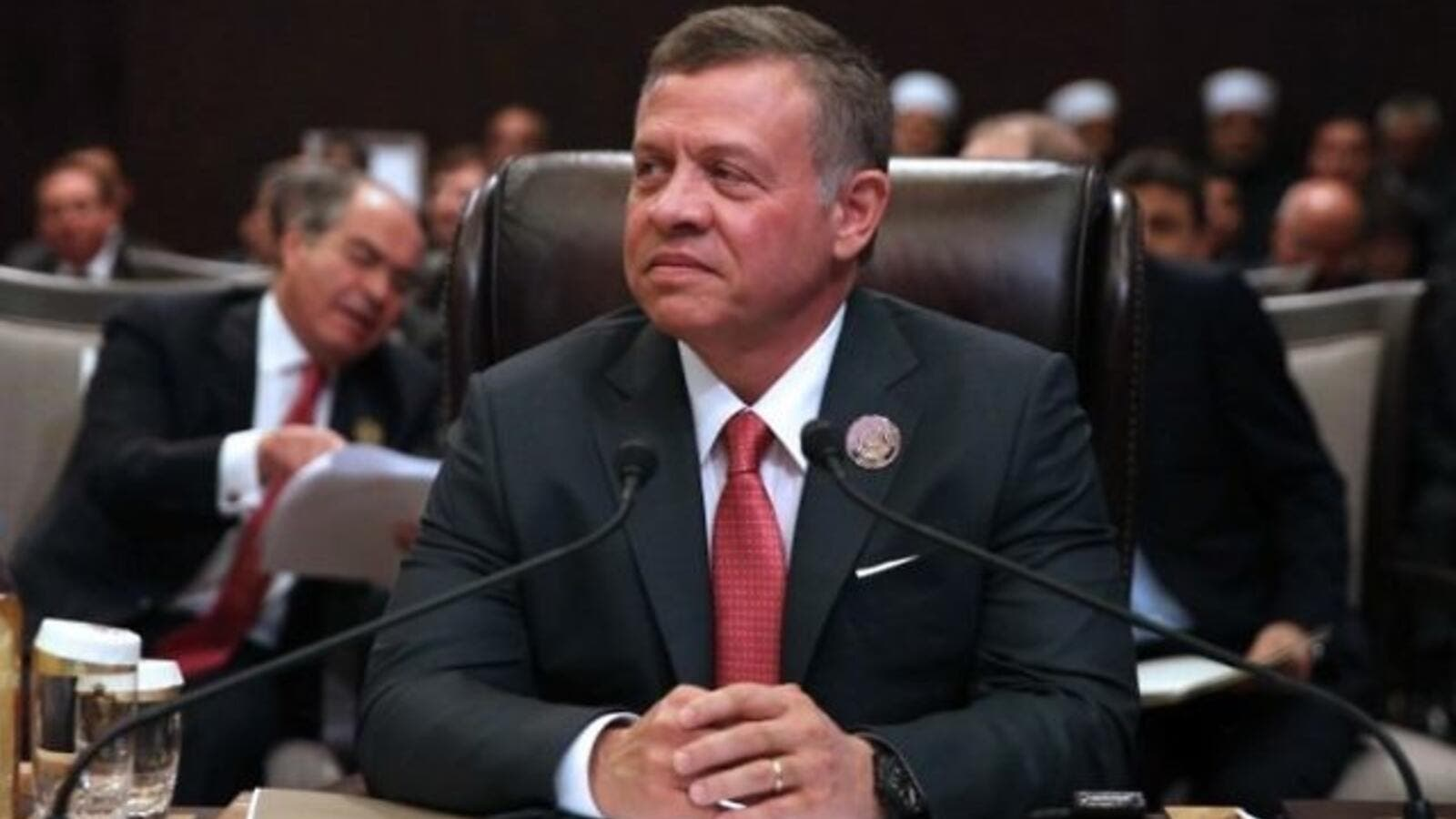 King Abdullah of Jordan will join leaders from around the world in an economic forum. (AFP/ File photo)