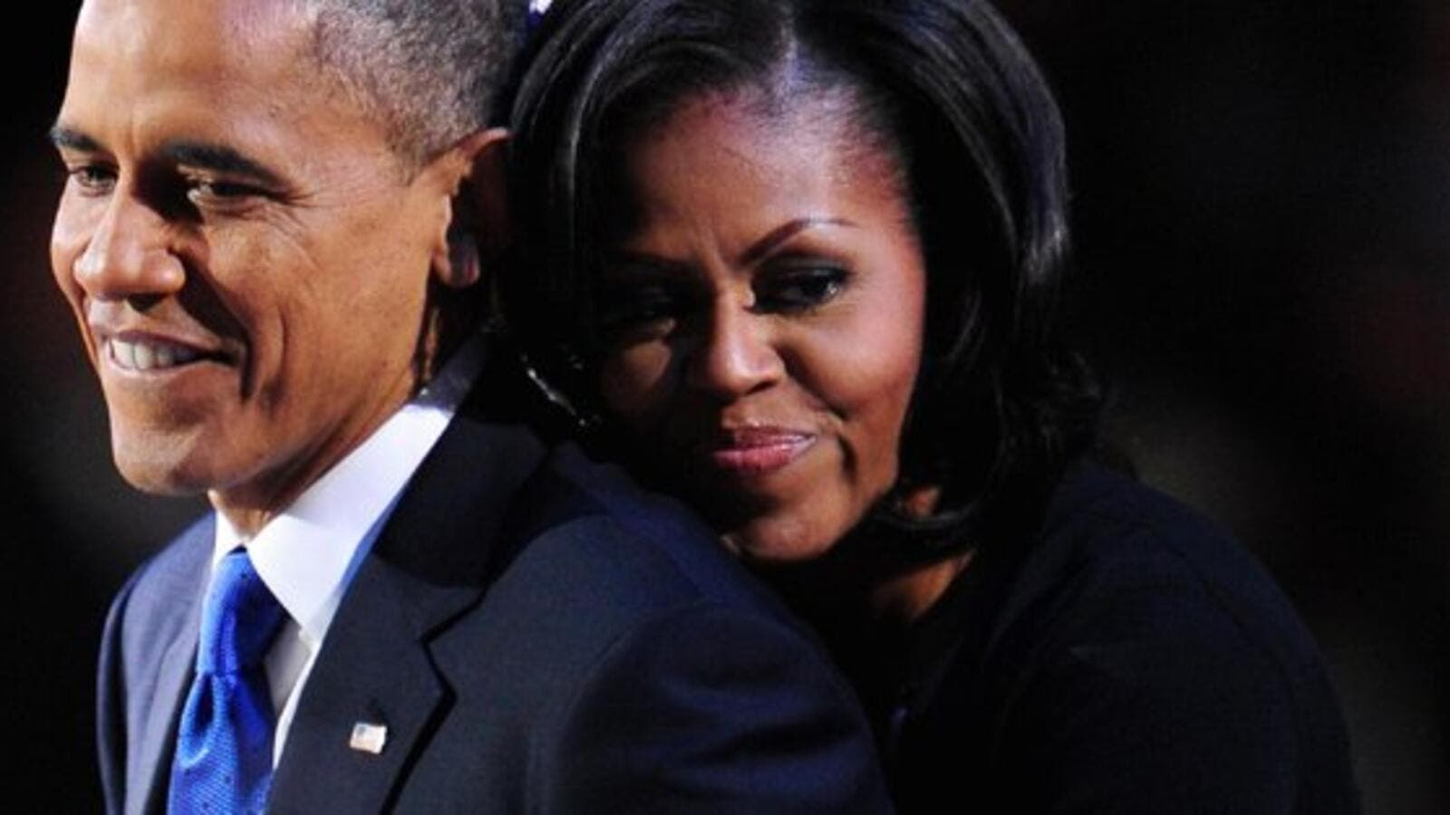 Barack Obama and Michelle Obama (Twitter)