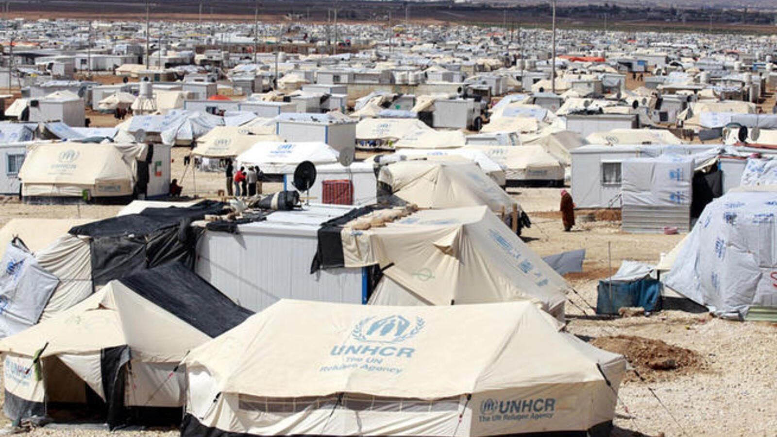 UNICEF intends to study refugees' conditions in Jordan camps. (AFP/ File Photo)