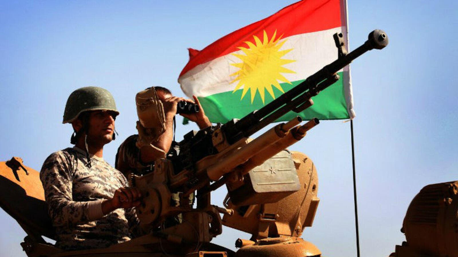 As Russian airstrikes intensify in Syria, more Western powers are showing renewed interest in Kurdish groups fighting Daesh in Iraq and Syria. (AFP/File)