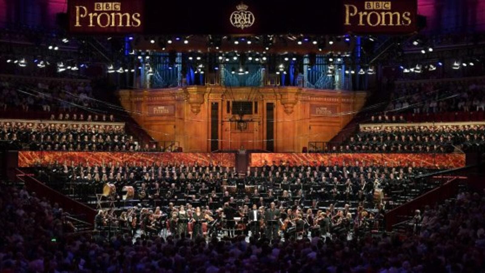 BBC Proms — one of the biggest classical musical festivals in the world (Twitter)