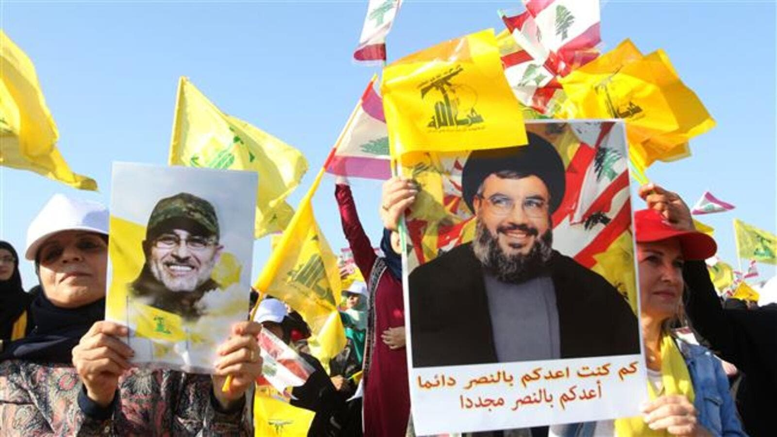 "Hezbollah supporters ran wild in the streets of Beirut after its leader Hassan Nasrallah hailed the parliamentary elections as a ""great victory"". (AFP/ File Photo)"