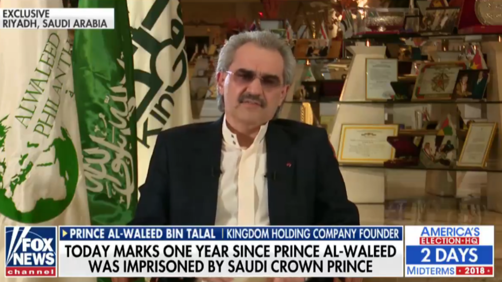 Prince Al Waleed bin Talal was one of the richest Arab men in the world before he was detained as part of the MBS crackdown on businessmen in 2017.