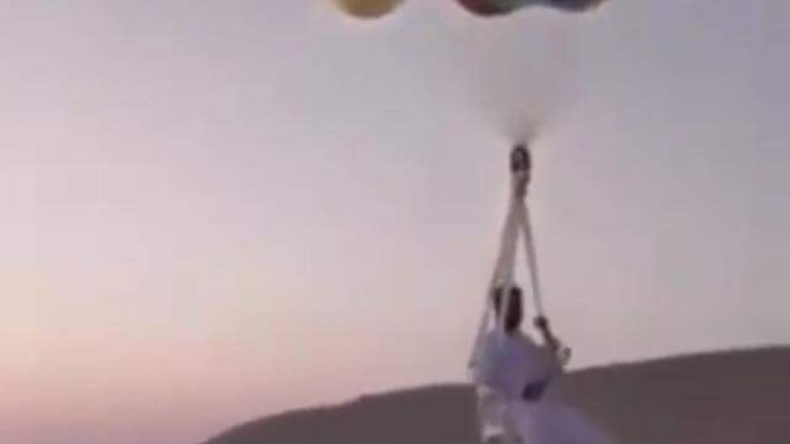 Khaleeji Boy Drifts Away on Balloons in Oman | Al Bawaba