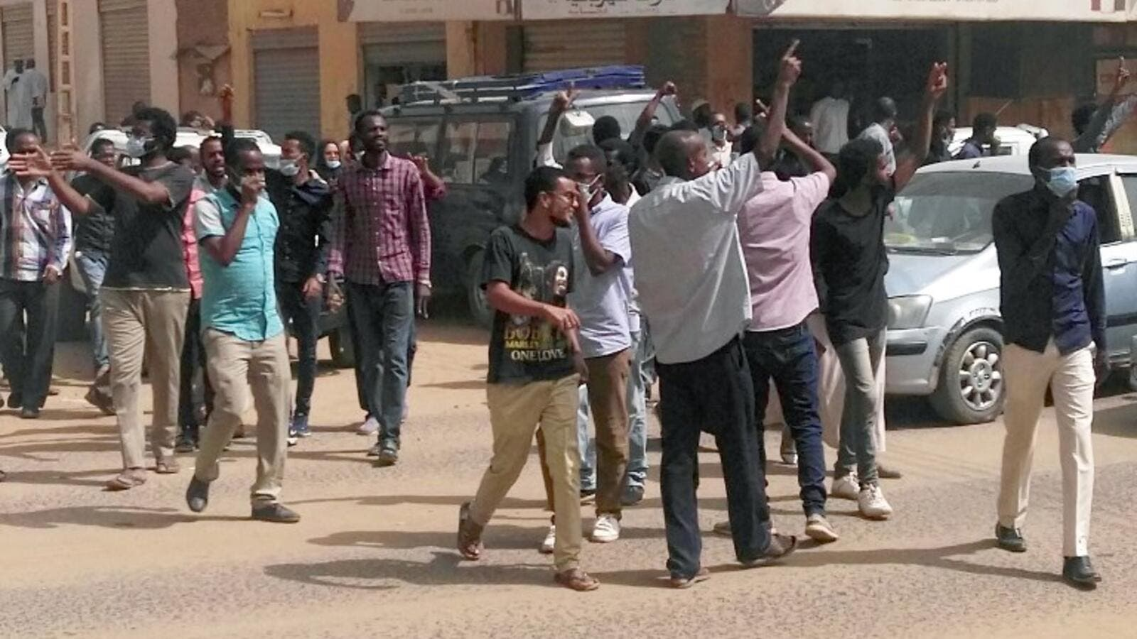 Sudanese protesters take part in an anti-government demonstration in Khartoum on February 7, 2019. (AFP/ File Photo)