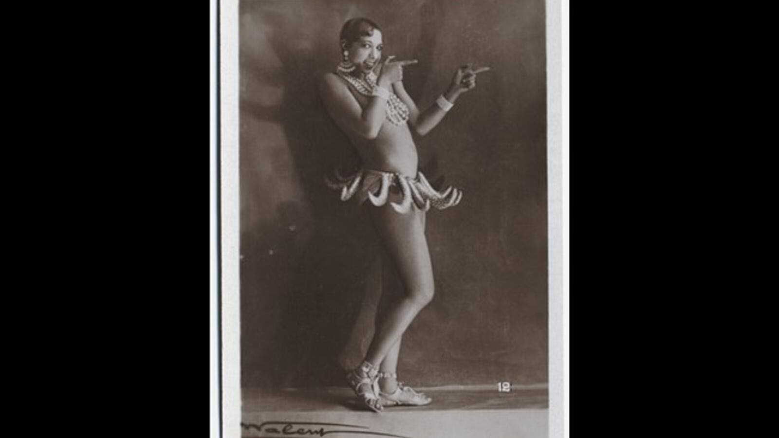 "An archival photo from ""Josephine Baker, the Story of an Awakening."" (Photo courtesy of BAFF)"