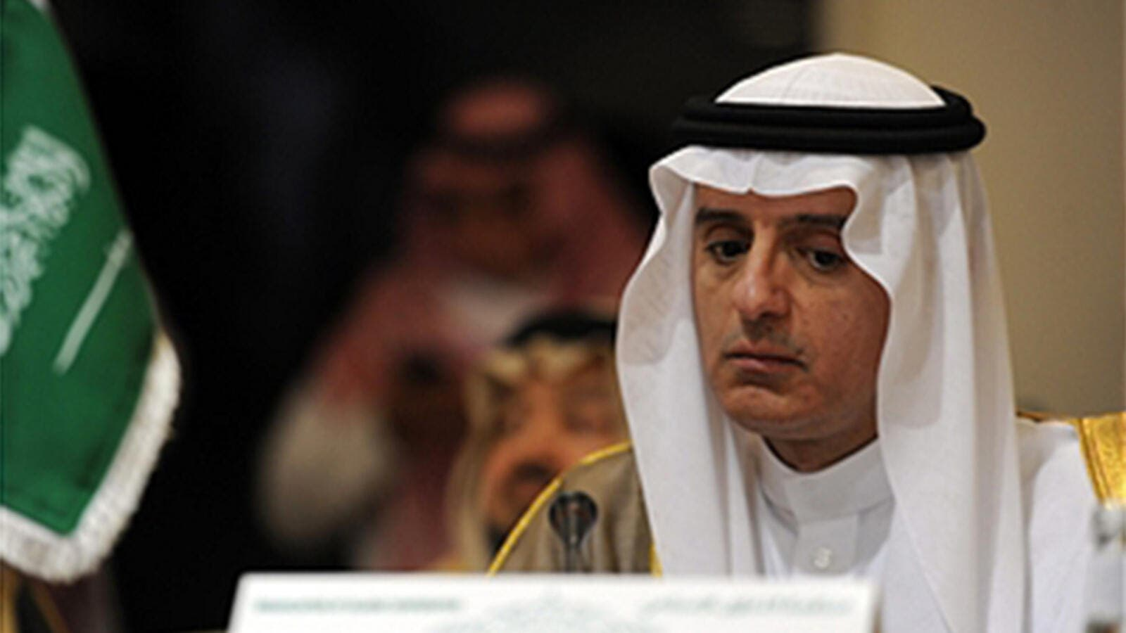 Saudi Foreign Minister Adel al-Jubeir attends a meeting by the Organization of Islamic Cooperation (OIC) in Jeddah on December 22, 2016, to discuss the situation in Syria. (AFP)