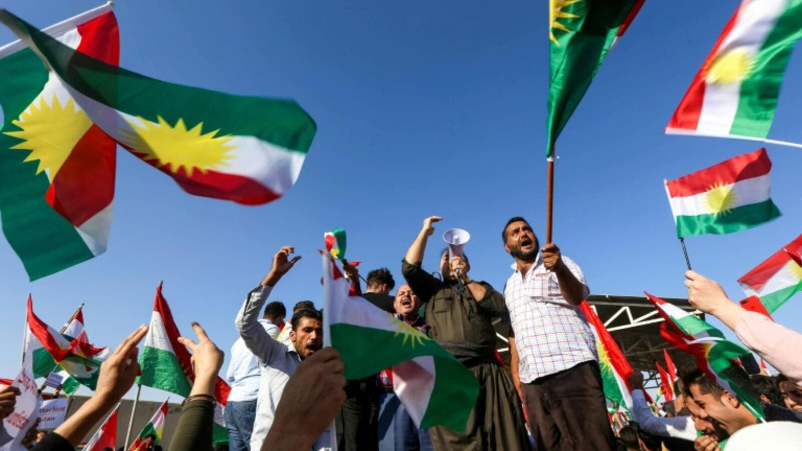 Iraqi Kurds protest in their regional capital Arbil. (AFP/ File Photo)