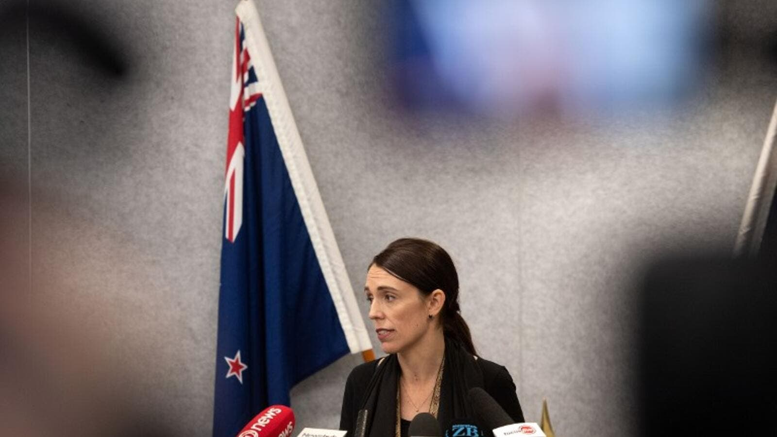 New Zealand Prime Minister Jacinda Ardern speaks to the media during a press conference at the Justice Precinct in Christchurch on March 16, 2019. (AFP/ File)