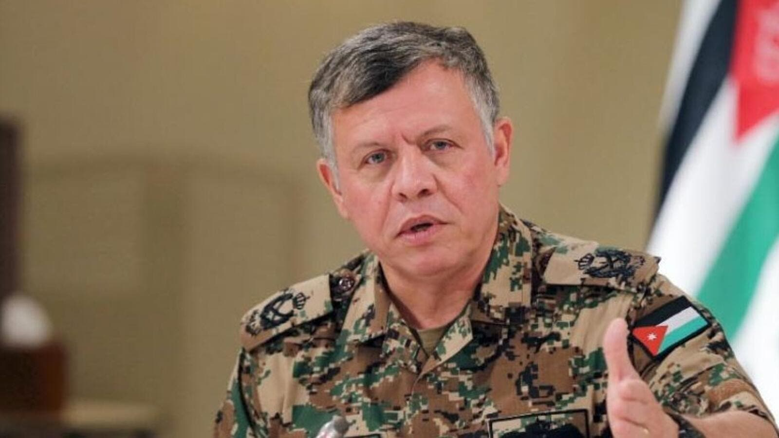 Jordan's King Abdullah II discusses the response to militancy in Iraq and Syria. (AFP/Yousef Allan)
