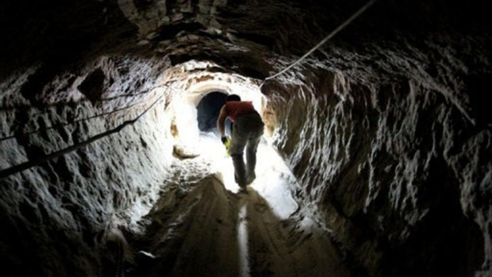 Since the 2013 military coup against President Mohamed Morsi, Egyptian authorities have cracked down on the tunnels along border with the Palestinian territory. (AFP/File)