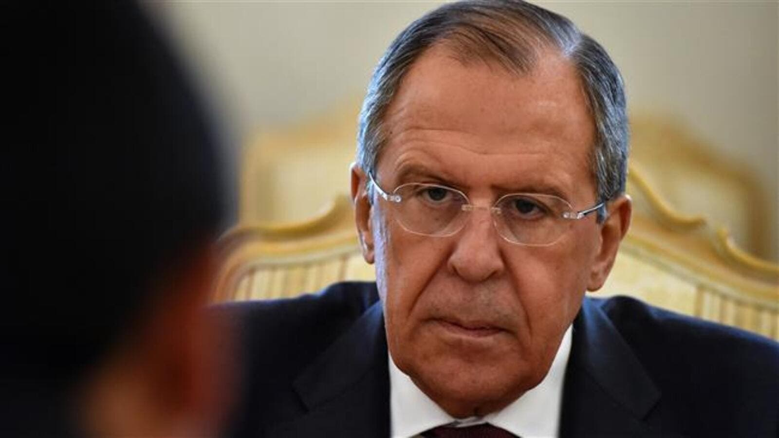 Russian Foreign Minister Sergei Lavrov. (AFP/File)