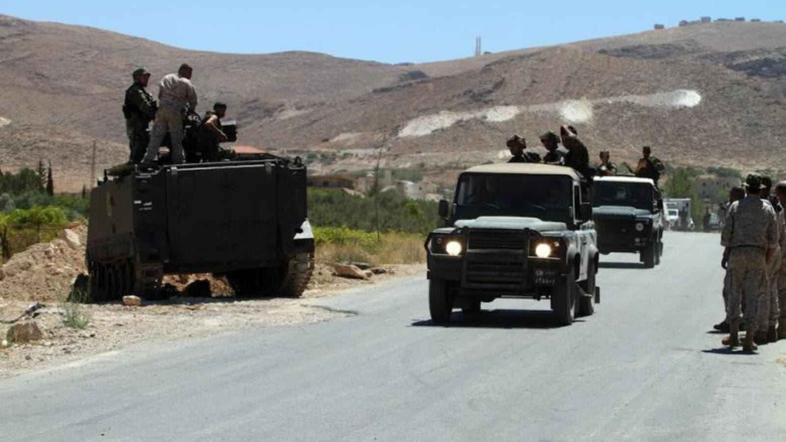Lebanese troops frequently launch preemptive strikes against the militant groups to keep them at bay. (AFP/File)