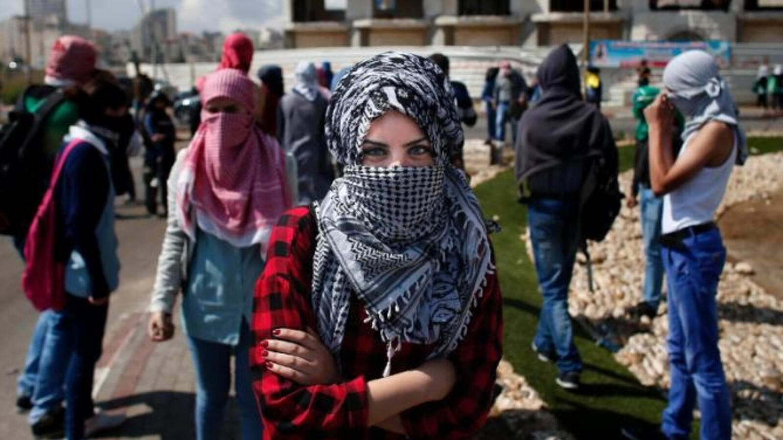 Palestinian are doubly affected by the Israeli occupation and domestic violence from partners as part of an ongoing culture of violence and oppression. (AFP/File)