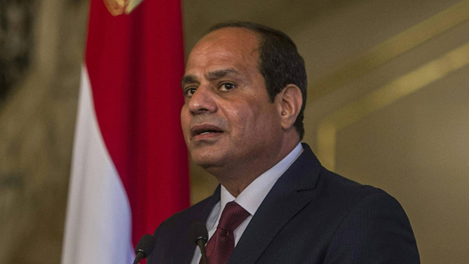Egyptian President Abdel Fattah a-Sisi. (AFP/File)