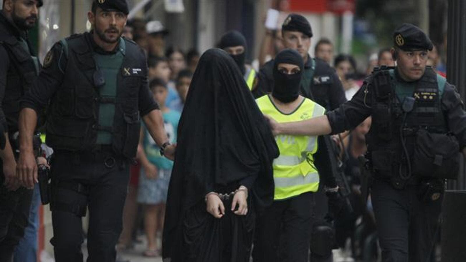 Spanish police arrest an 18-year-old Moroccan girl suspected of recruiting other women. (AFP/File)