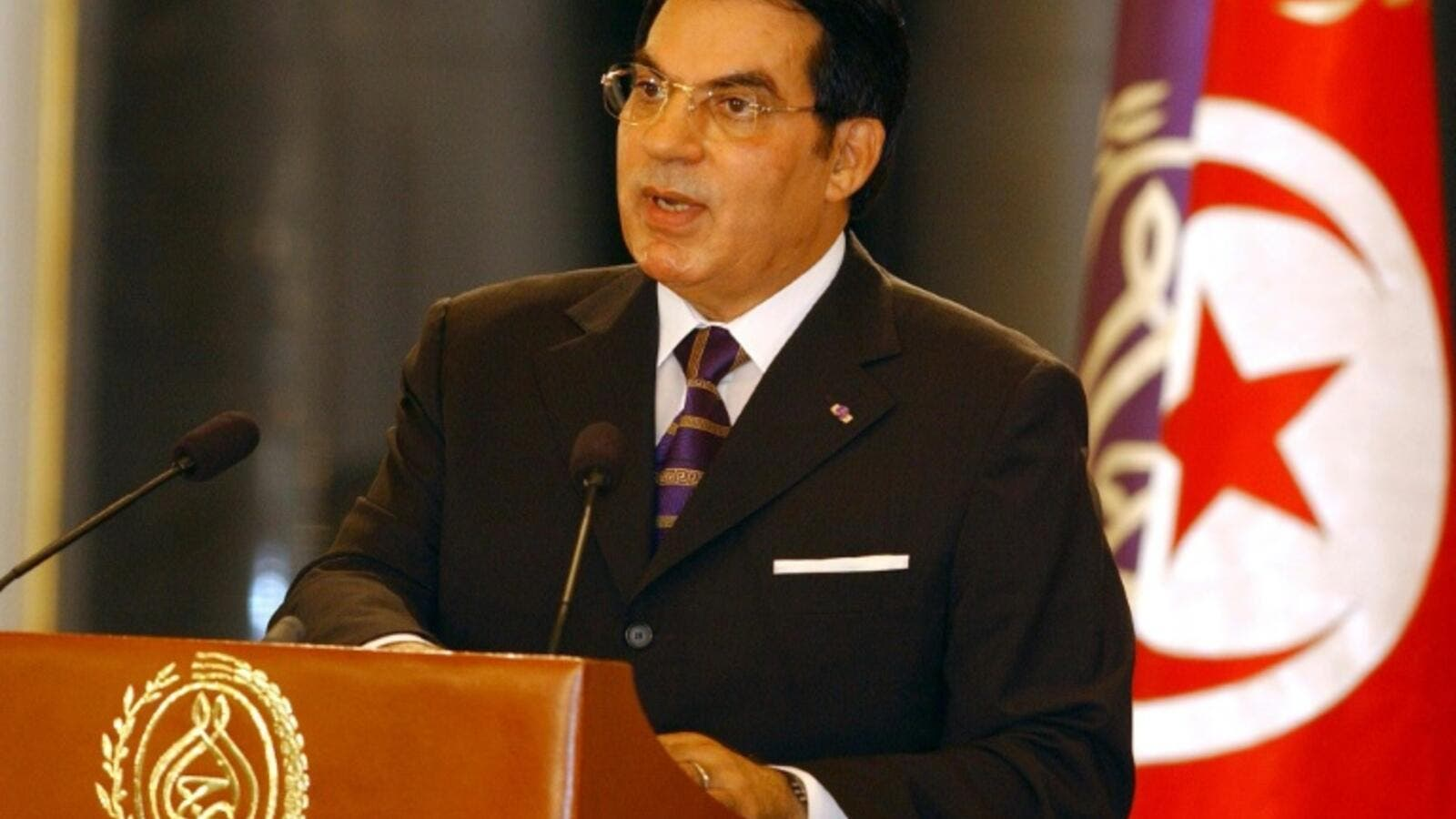 Ben Ali, who ruled Tunisia with an iron fist for 23 years until he was deposed in 2011, has since been convicted in several cases, including for corruption, and was also sentenced to life imprisonment over the bloody crackdown on demonstrations during the uprising against him, in which more than 300 people were killed. (File/AFP)
