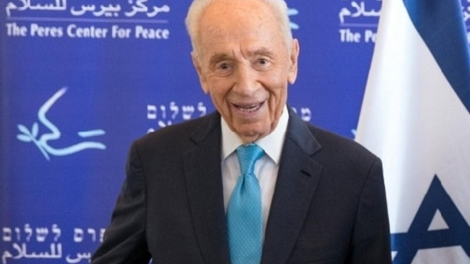 Veteran of Israeli politics Shimon Peres died Wednesday (AFP/Jack Guez)
