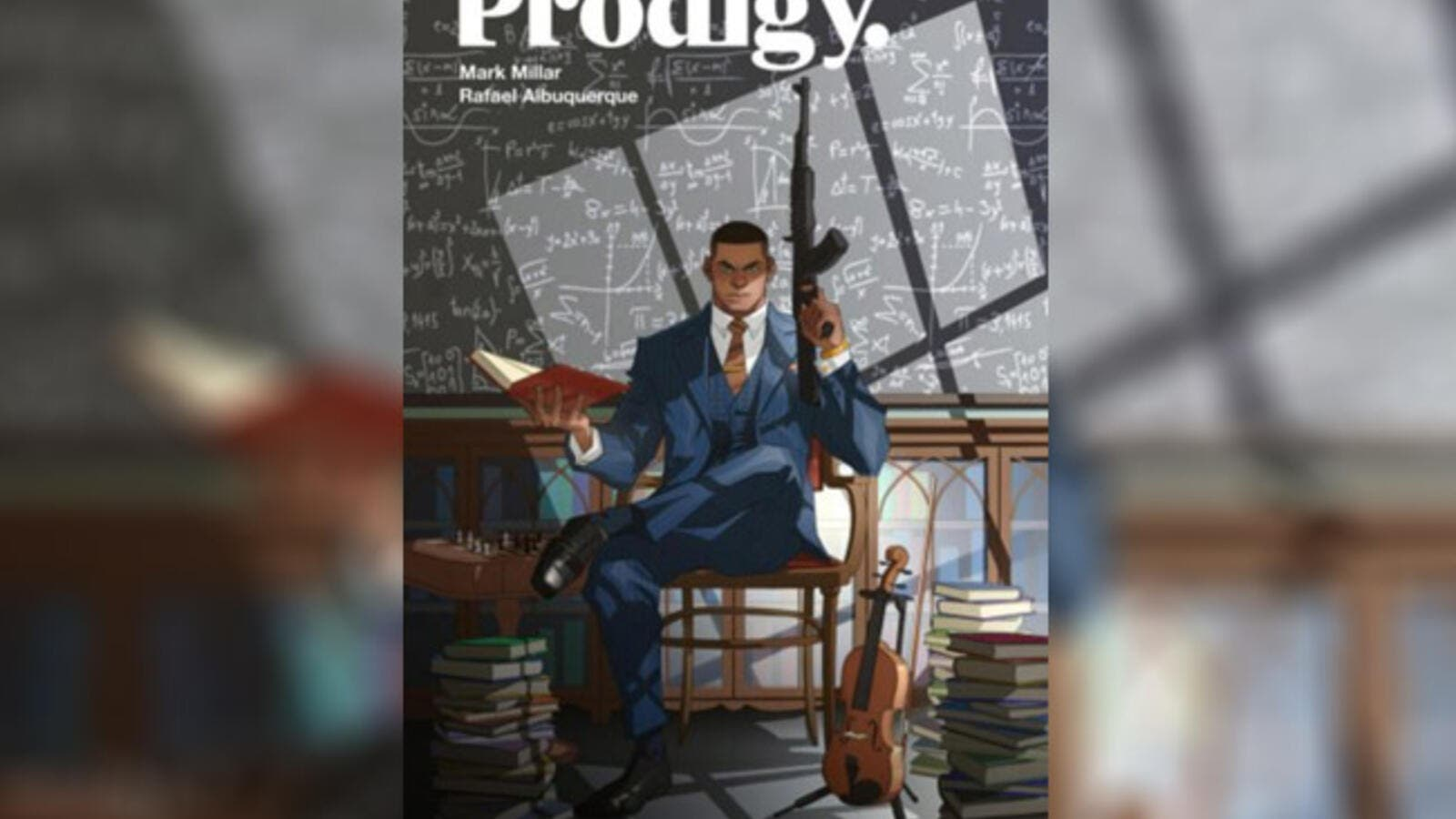 Prodigy will arrive in comic book stores Dec. 5 (Source: Hollywood Reporter / twitter )