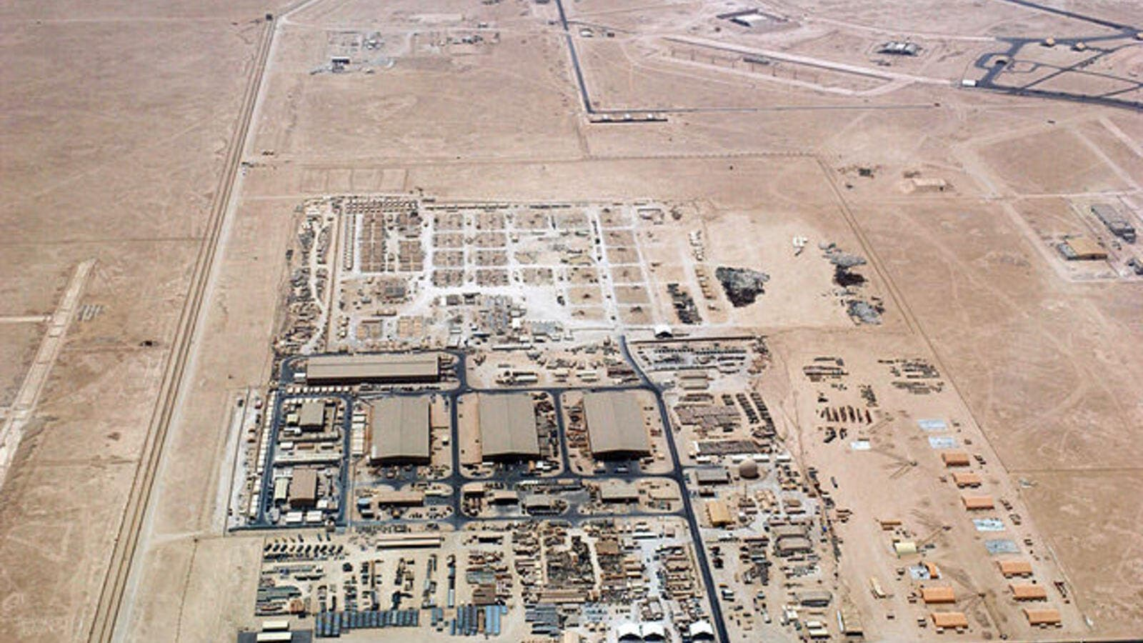 Al-Udeid Airbase, a US military base in Qatar. Turkey has stressed that its own military base in the tiny Gulf state has nothing to do with the ongoing diplomatic crisis. (Wikimedia Commons)