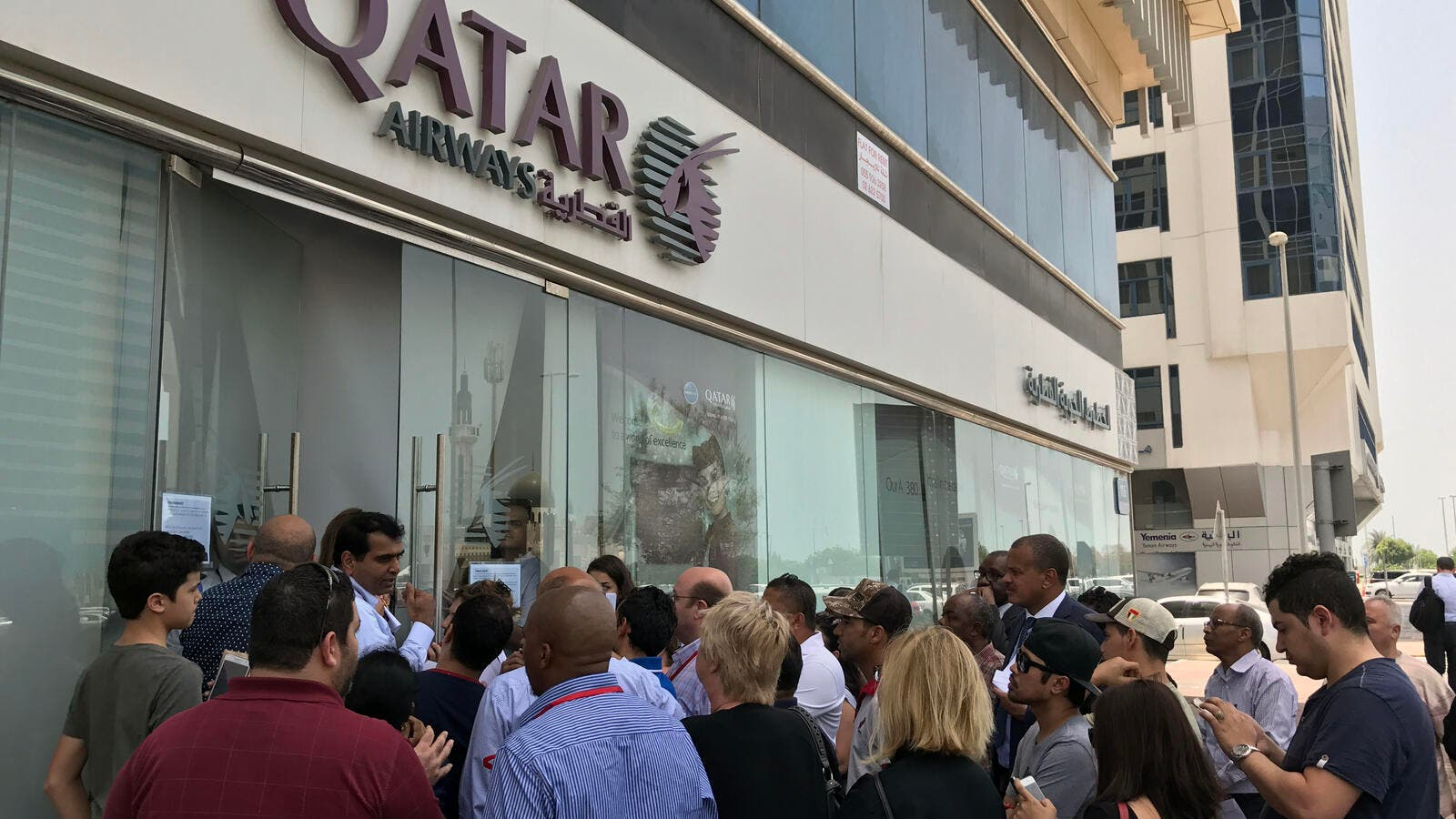 "In a statement published by Qatar's foreign ministry, authorities said the decision to cut ties with Doha ""is based on baseless fabricated claims"". (AFP)"