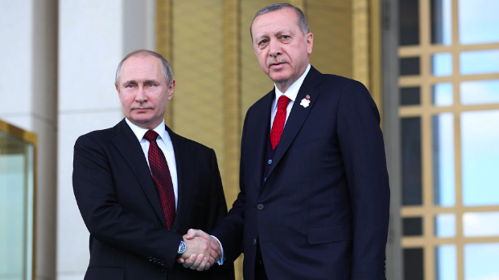 Putin (L) Erdogan (AFP/ File Photo/Adem Altan)
