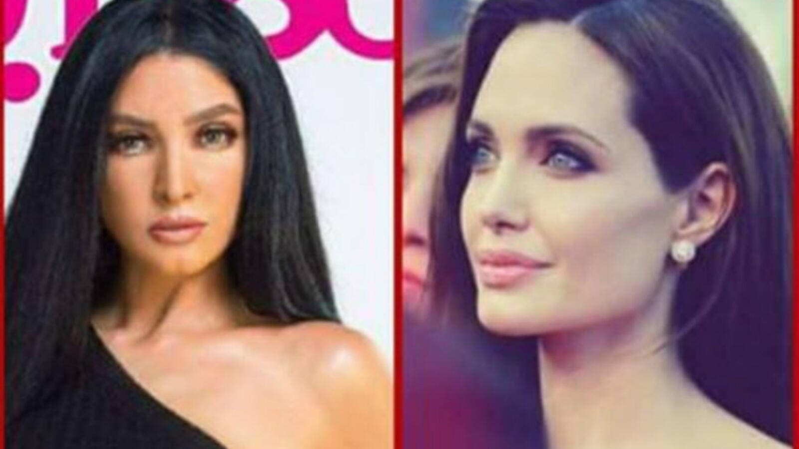 Fans hurled actress Rogena with comments after she posted a picture collage of herself and Jolie, comparing her latest appearance to the Hollywood actress. (Source: Rogenaofficial - Instagram)