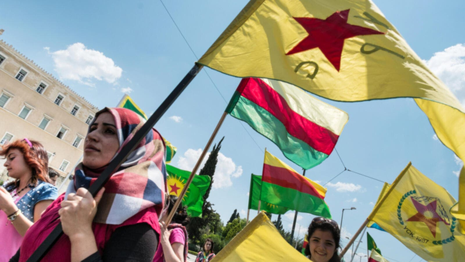 Kurdish leaders of the Democratic Union Party in Syria detained in Prague (AFP/File Photo)
