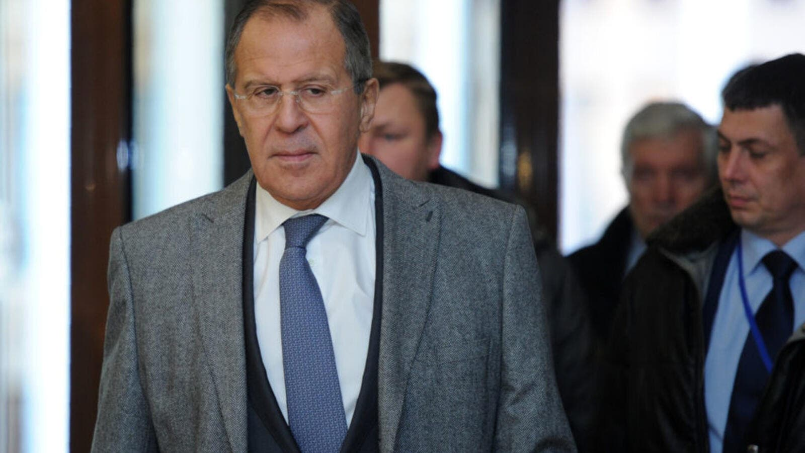 Russian foreign minister stated that the country won't remain silent against the diplomatic war from EU. (AFP/ File Photo)