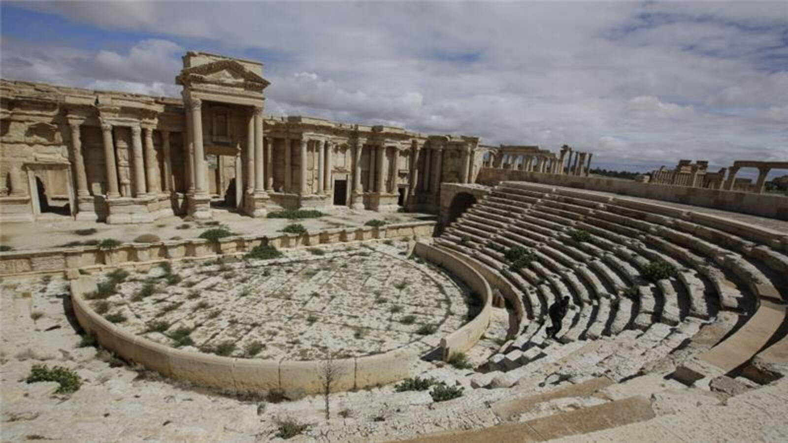 Before the war some 150,000 tourists a year visited Palmyra. (AFP/File)