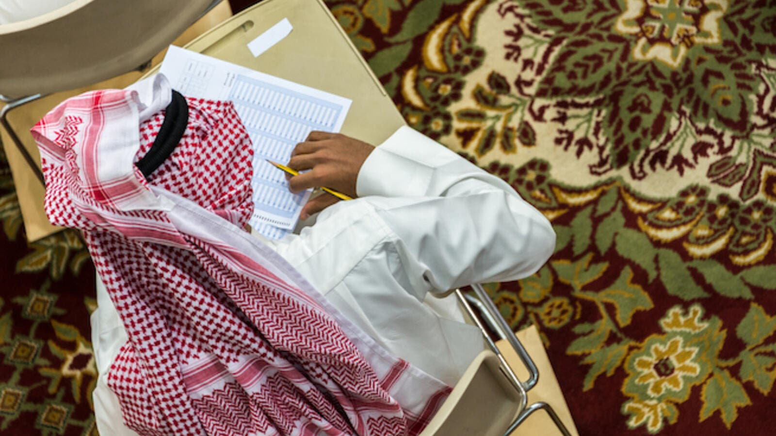 Al-Saraj said that Saudi Vision 2030 was motivating students, encouraging them to create their own businesses. (Shutterstock)