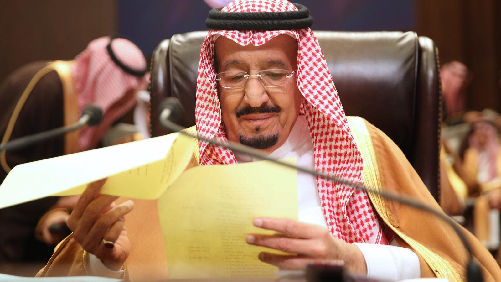 Saudi Arabia's King Salman bin Abdulaziz has ordered the suspension of a columnist after praise from the overzealous journalist appeared to go too far. (AFP)
