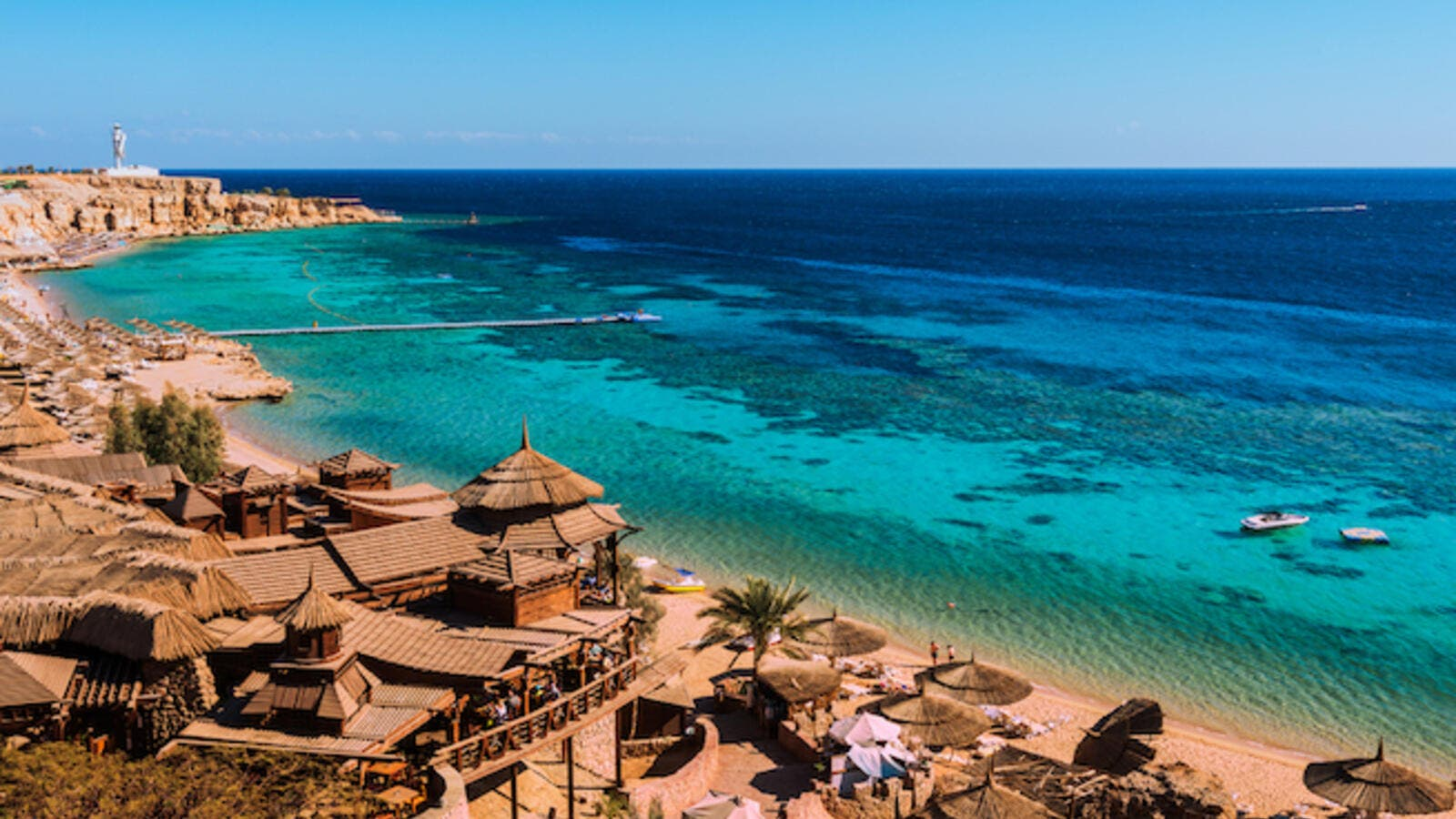 The coastal cities lead the market in occupancy in Q3 2018, however, Sharm El Sheikh and Hurghada have not achieved the high Y-o-Y gains seen in Q3 2017. (Shutterstock)