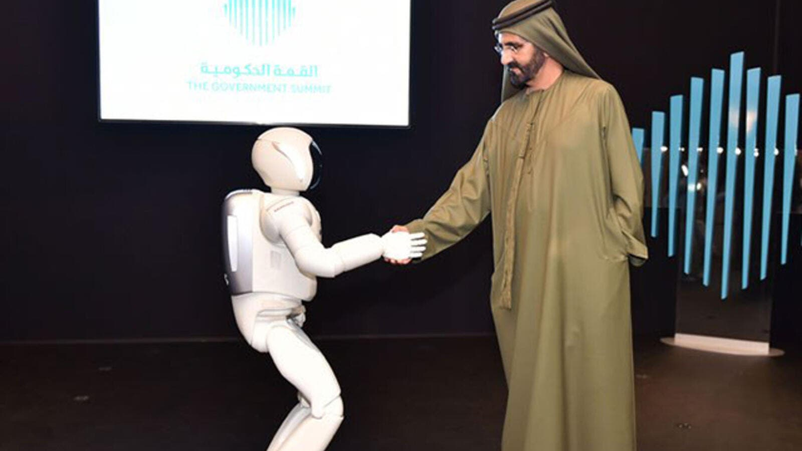 Ruler of Dubai Sheikh Mohammed bin Rashid Al Maktoum on Saturday launched the 'Museum of the Future' due to open in 2019. (Courtesy of Dubai Media Office)