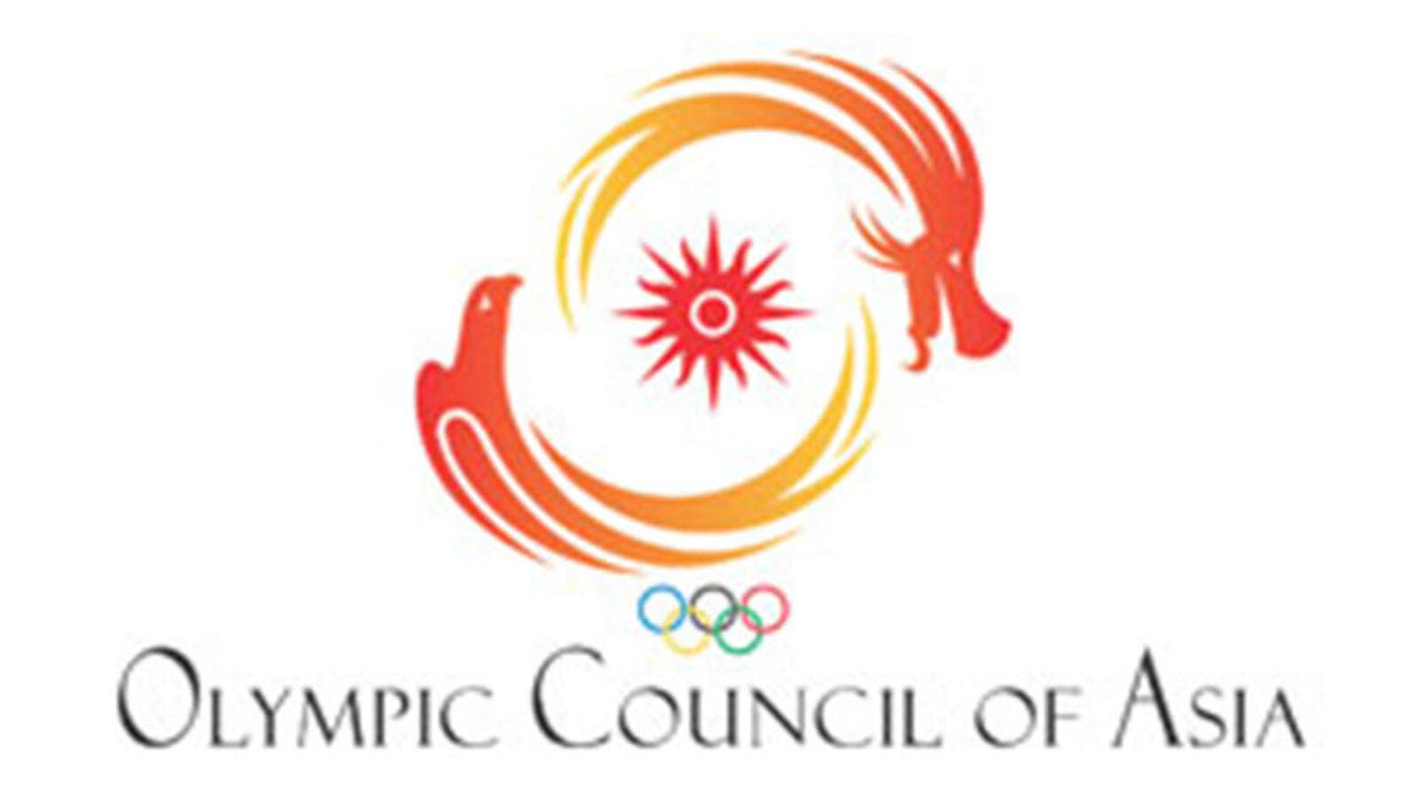 The Olympic Council of Asia logo