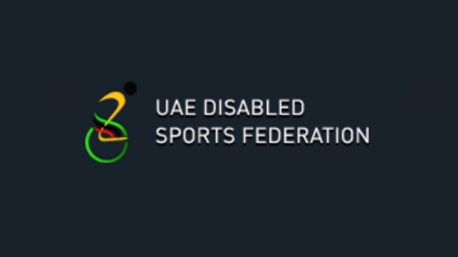 UAE Disabled Sports Federation logo