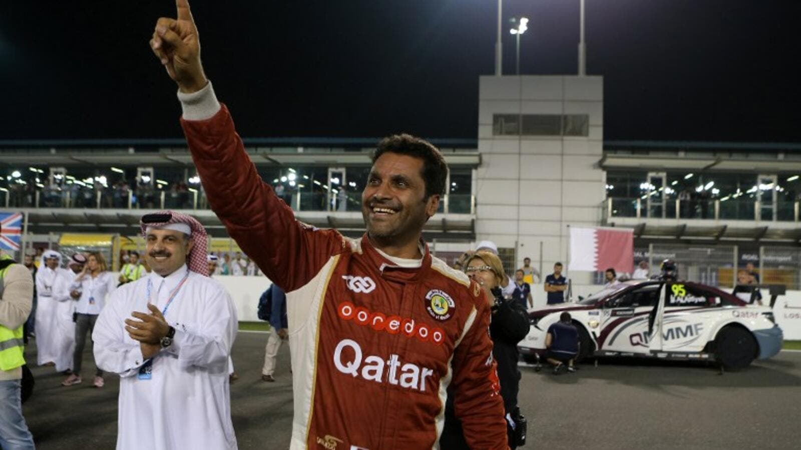 Nasser Saleh Al Attiyah (right), with another MERC great Mohammed Ben Sulayem at the recent Abu Dhabi Desert challenge.